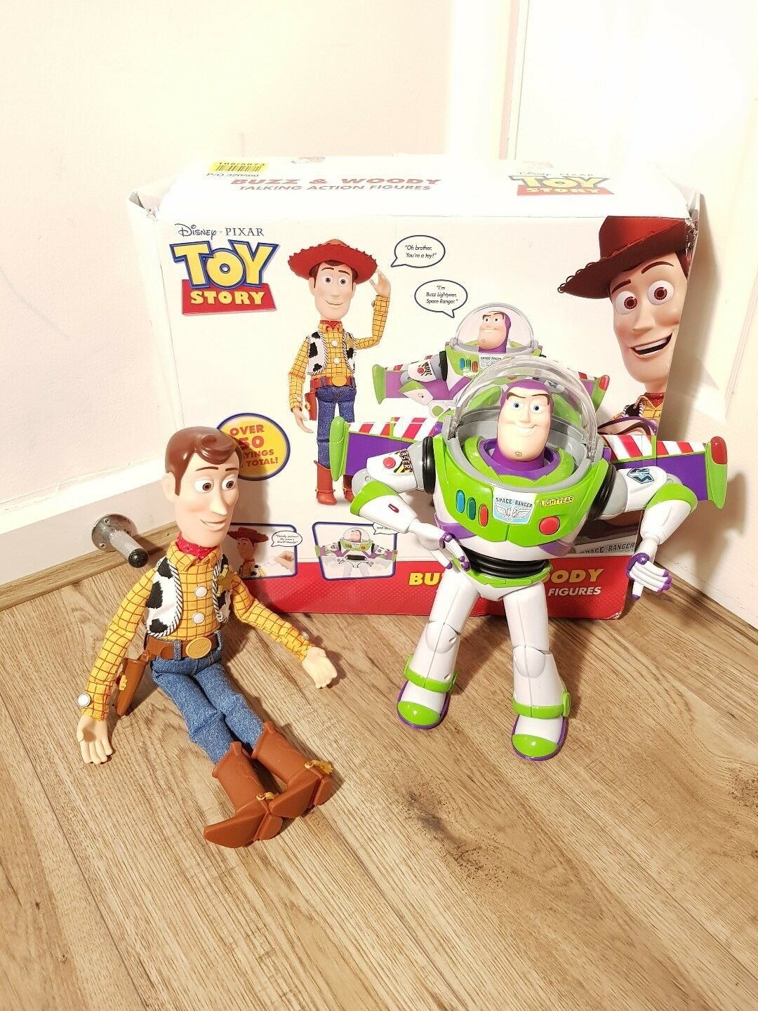Toy Story Woody and Buzz Interactive Buddies