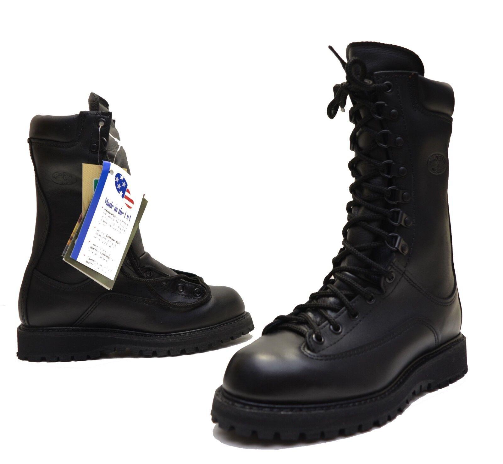 Matterhorn Model 1950 Boots 6.5 W - Gore Tex - Black Leather Insulated Field
