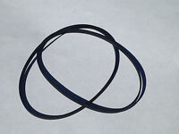 2 Replacement Belt Set For Fisher Dual Cassette Player Deck Cr-w46