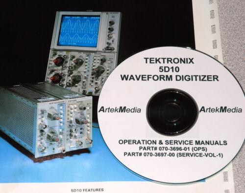 TEK 5D10 WAVEFORM DIGITIZIER OPS /& SERVICE MANUALS 2