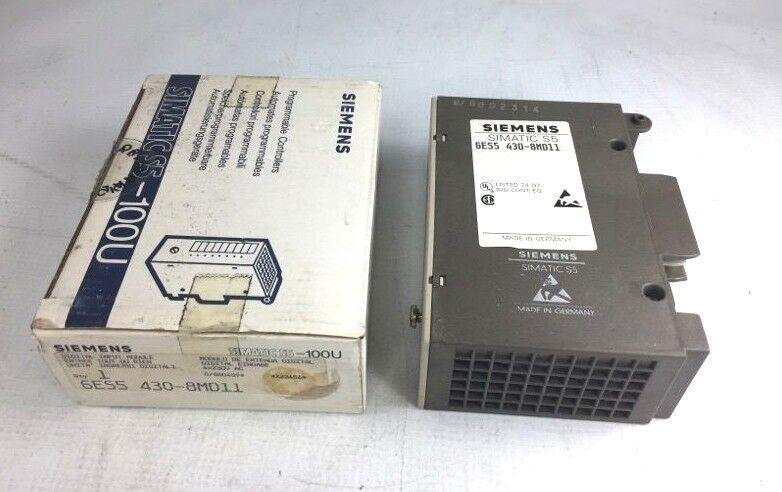 SIEMENS 6ES5 430-8MD11 Digital Input Module 4X230VAC 6ES5-430-8MD-11 NIB NEW