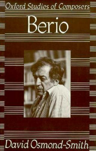 Berio David Osmond-Smith