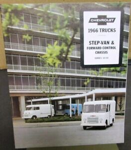 1966-Chevrolet-Step-Van-amp-Forward-Control-Chassis-Truck-Sales-Brochure-Original