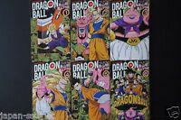 "JAPAN Akira Toriyama manga: Dragon Ball Full Color ""Majin Boo"" 1~6 Complete set"