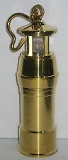 Leuchtturm aus Messing, Leselampe, Notbeleuchtung, Handarbeit, 12x4cm