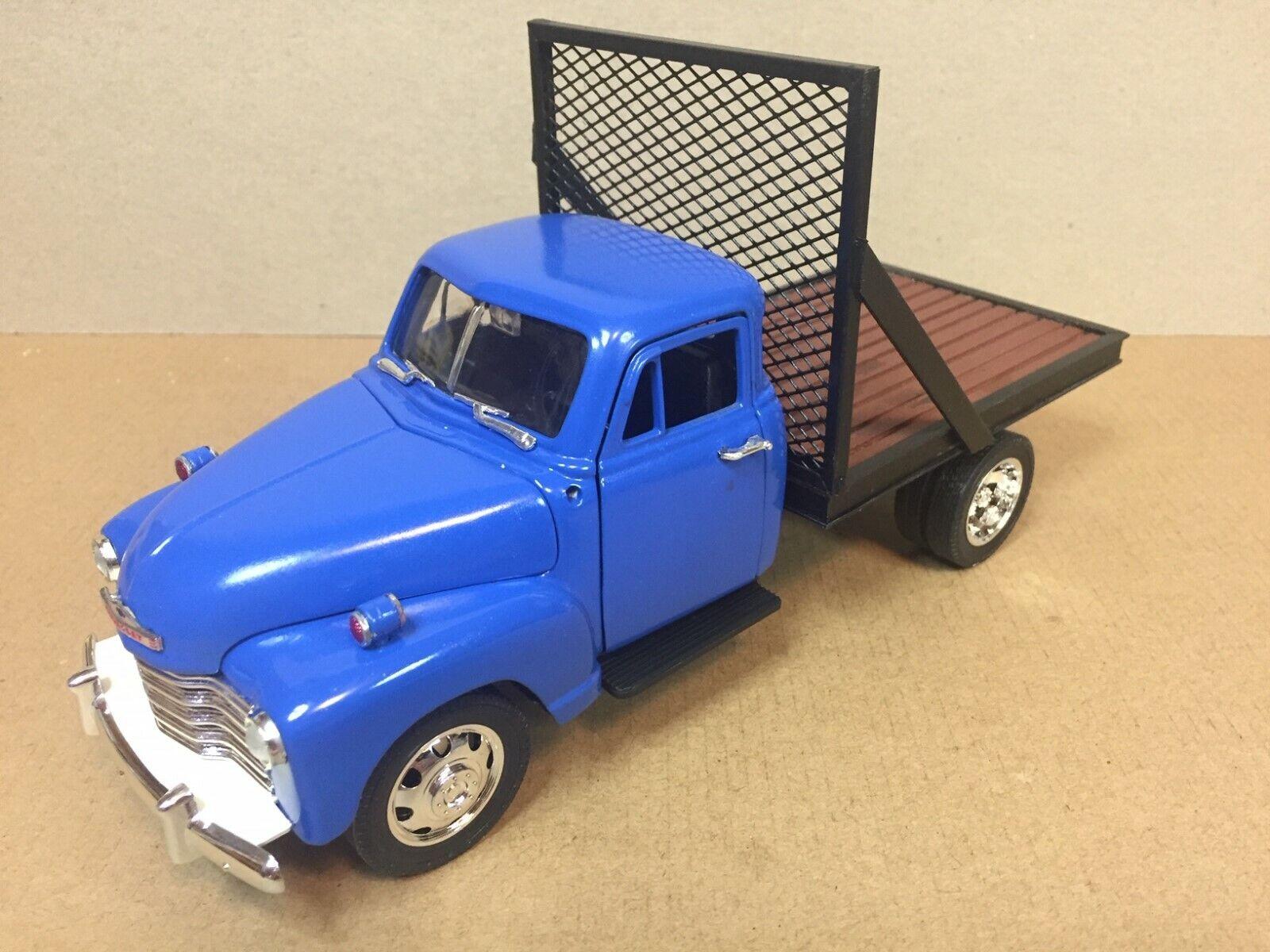 hasta 60% de descuento rojoucción del 15%  Personalizado 1 24 1953 1953 1953 Chevrolet camión de rueda de doble plano  solo cómpralo