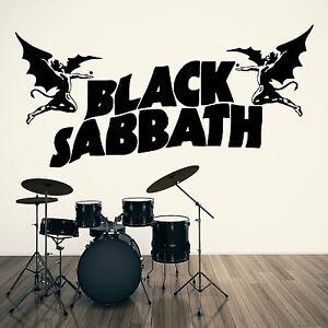 I Black Sabbath Ozzy Osbourne Vinile Muro Arte Adesivo Decalcomania  </span>