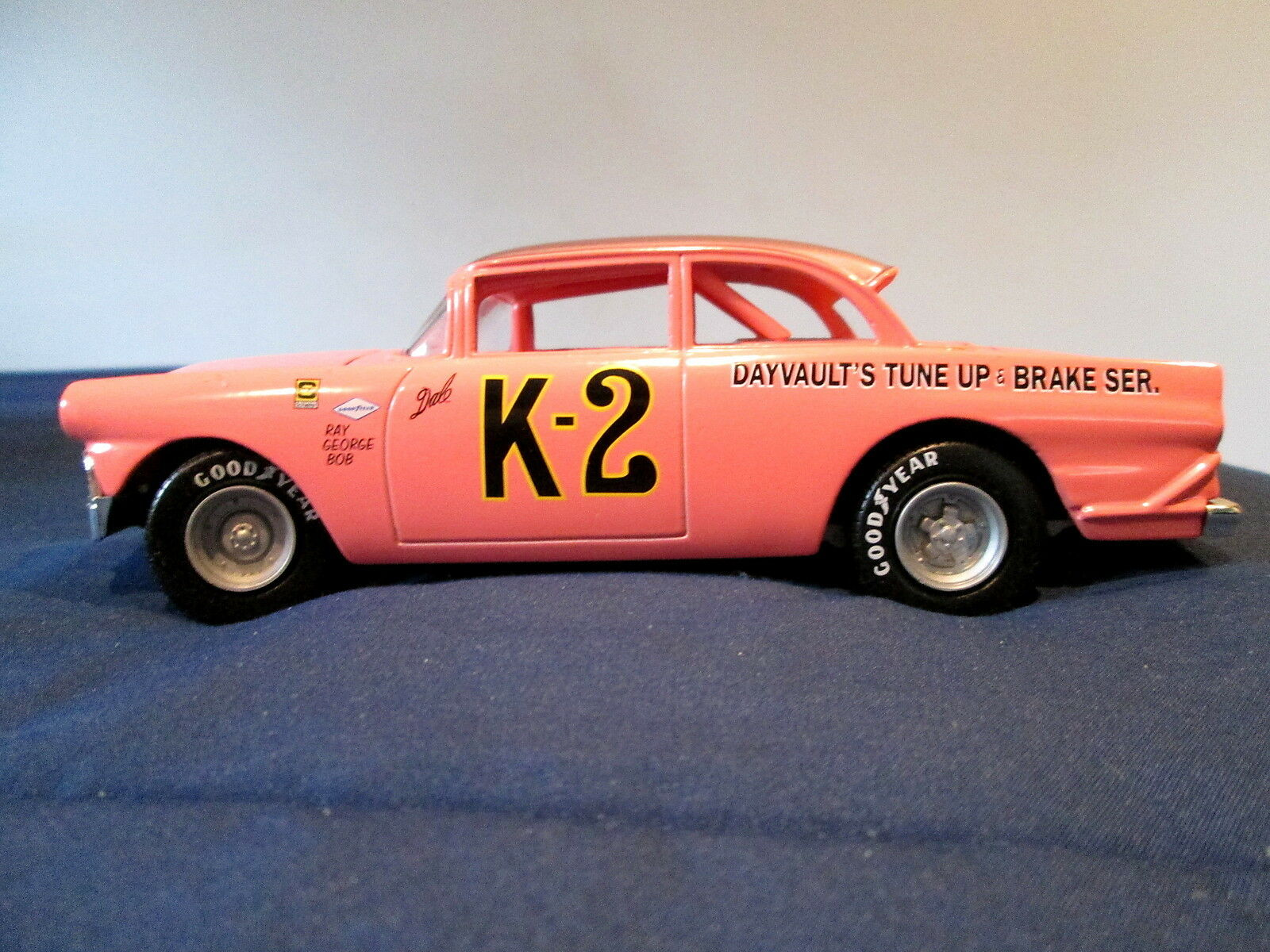DALE EARNHARDT'S FIRST RACE CAR - 1956 FORD -  K-2  - BY ACTION  LIMITED EDITION