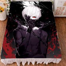 Anime Tokyo Ghoul Kaneki Ken Cosplay Flat Bed Sheet Bedding Blanket Gift #JM-17