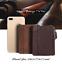Men-Women-Genuine-Leather-Cowhide-Bifold-Wallet-Holder-Credit-Card-Retro-Purse miniature 8