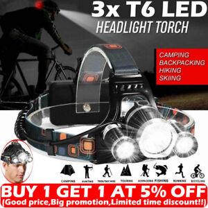 Super-bright-90000LM-3x-T6-LED-Headlamp-Headlight-Flashlight-Head-Torch-Camping