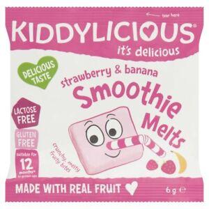 Kiddylicious-Gluten-Free-Strawberry-amp-Banana-Smoothie-Melts-6-gram