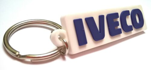 logo from stickers Iveco Daily rubber keychain light pvc fob /> dashboard prot