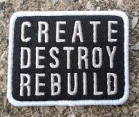 Glamour Kills Create Destroy Rebuild Patch 2.75 Wide Black White