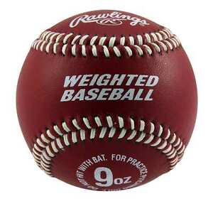RAWLINGS-WEIGHTED-9-OUNCE-TRAINING-BASEBALL-TO-BUILD-ARM-STRENGTH
