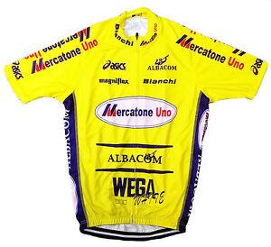 MERCATONE UNO RETRO VINTAGE CYCLING TEAM BIKE JERSEY - Marco Pantani ... 95a883ca2