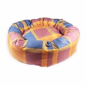 Cubes - Lits pour chiens Donut.   Chelsea Navy Puppy Bed.   Snug & Cozy Animal XL L M S