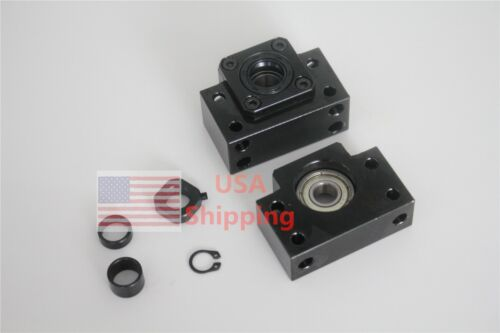 BF12 BK12 end support bearing block for Ball Screw RM1605