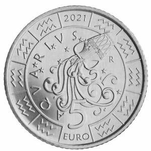 San Marino 2021 Serie Sternzeichen: Wassermann Monometallico
