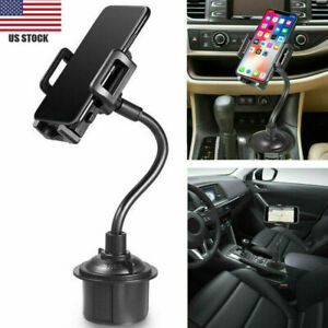 Universal-Car-Mount-Adjustable-Cup-Holder-Stand-Cradle-For-Cell-Phone-Mobile-NEW