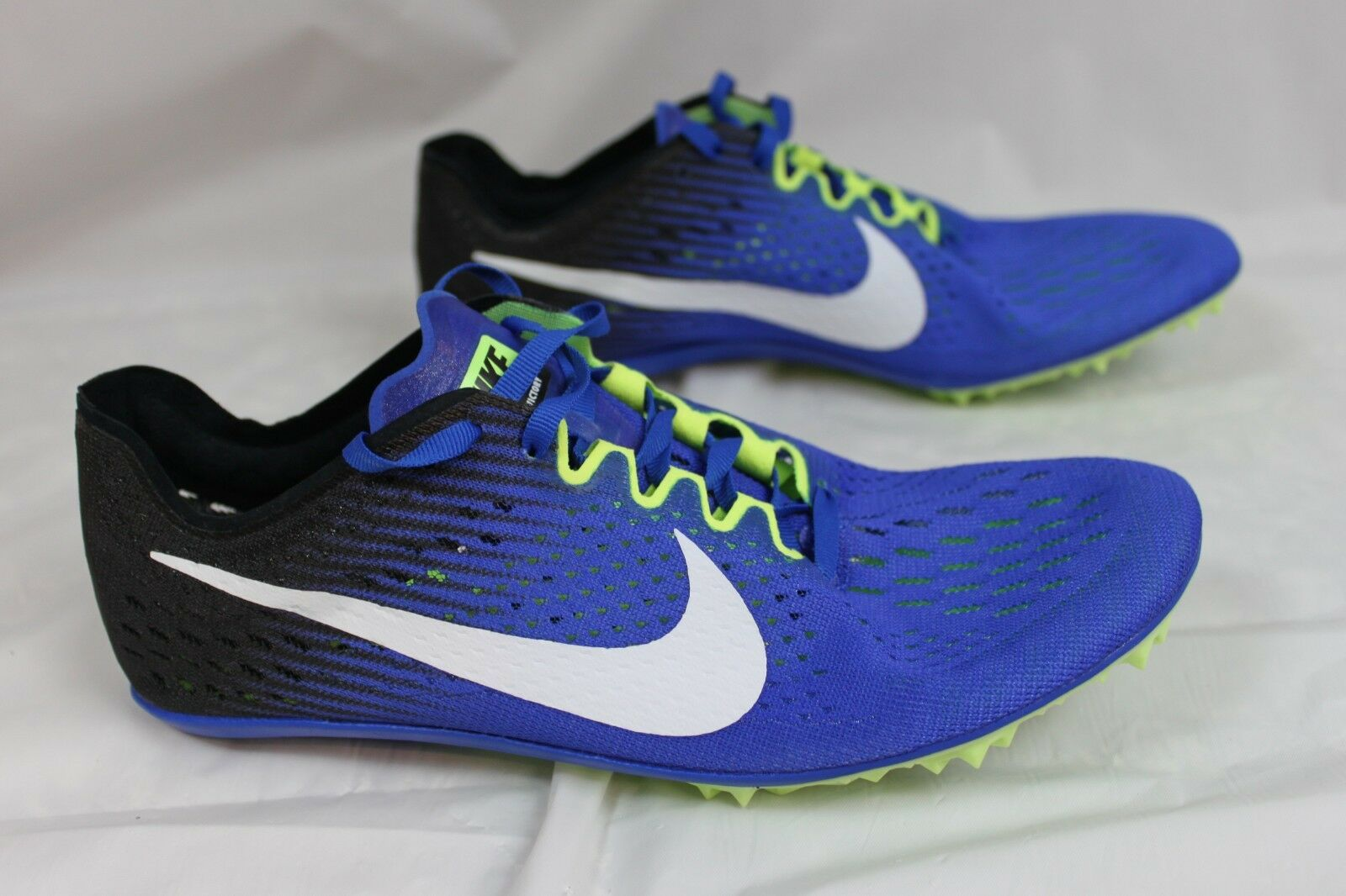 Nike Zoom Victory 8, 3 Distance Pista/XC Zapatos Azul, 7.5, 8, Victory 10, 12, con picos! 2d7c3a