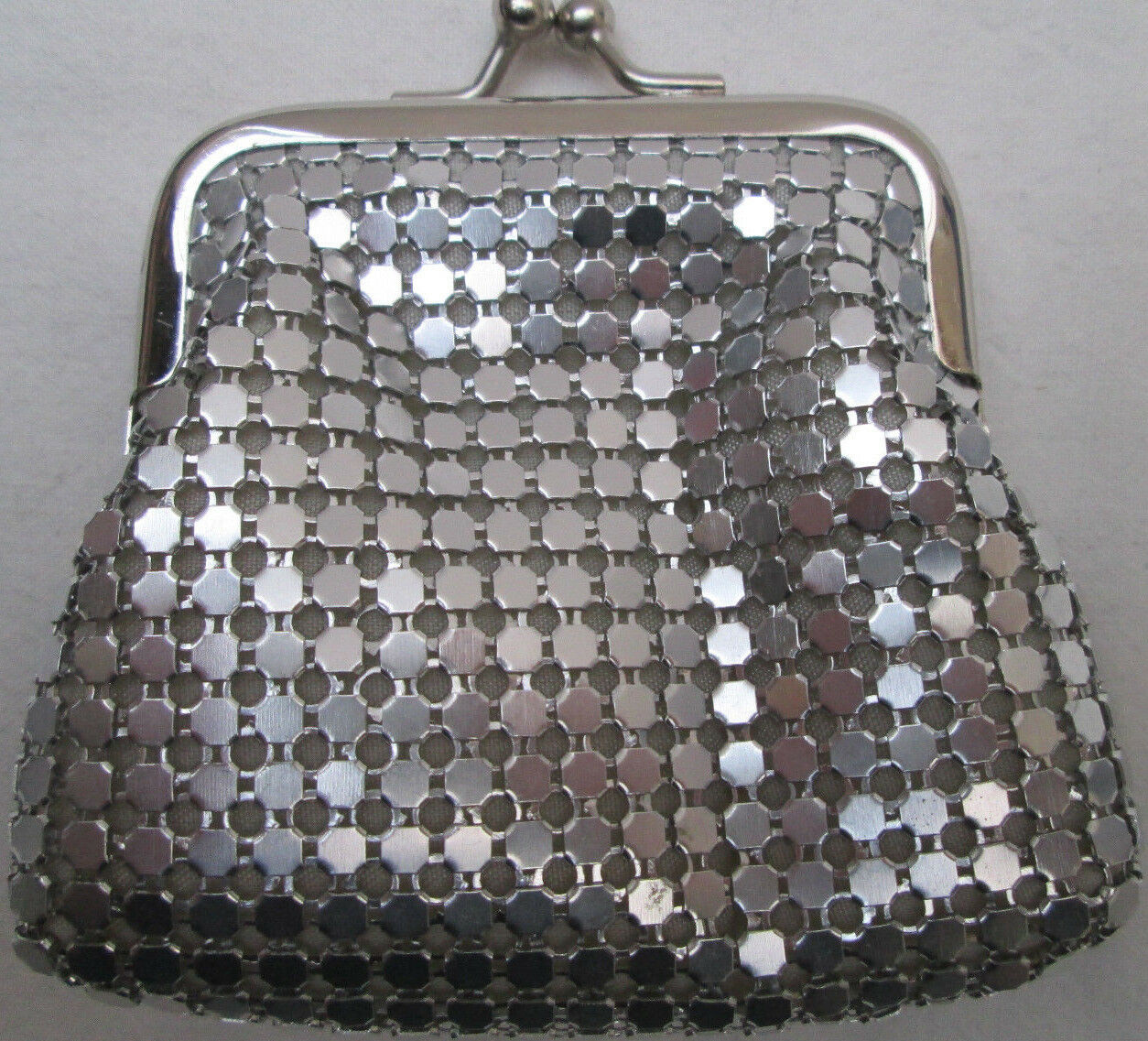 - nice purses silver clipsé tbeg vintage