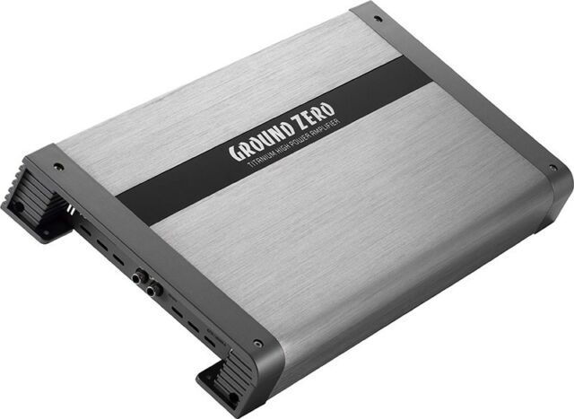 Ground Zero Gzta 1.1200DX-II - Class-D 1300 Watt RMS Monobloc Amplificateur Auto