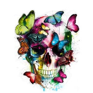Peinture-par-Numeros-DIY-Peinture-Acrylique-Image-Art-Papillon-Tete-de-Mort