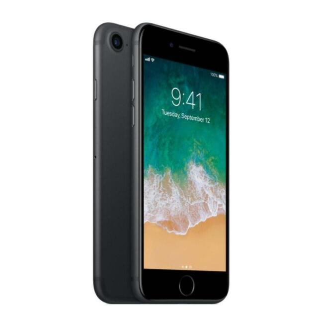Apple iPhone 7 - 128GB - Black - Unlocked - Smartphone
