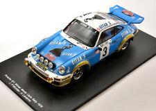 SPARK 1/18. Porsche 911 winner Rally Monte Carlo 1978 Nicolas - Laverne 18S095