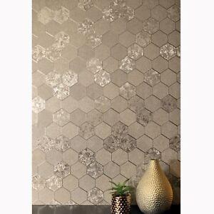 Feuille-Nid-Papier-Peint-Geometrique-Chatoyant-Champagne-Dore-294701-Arthouse