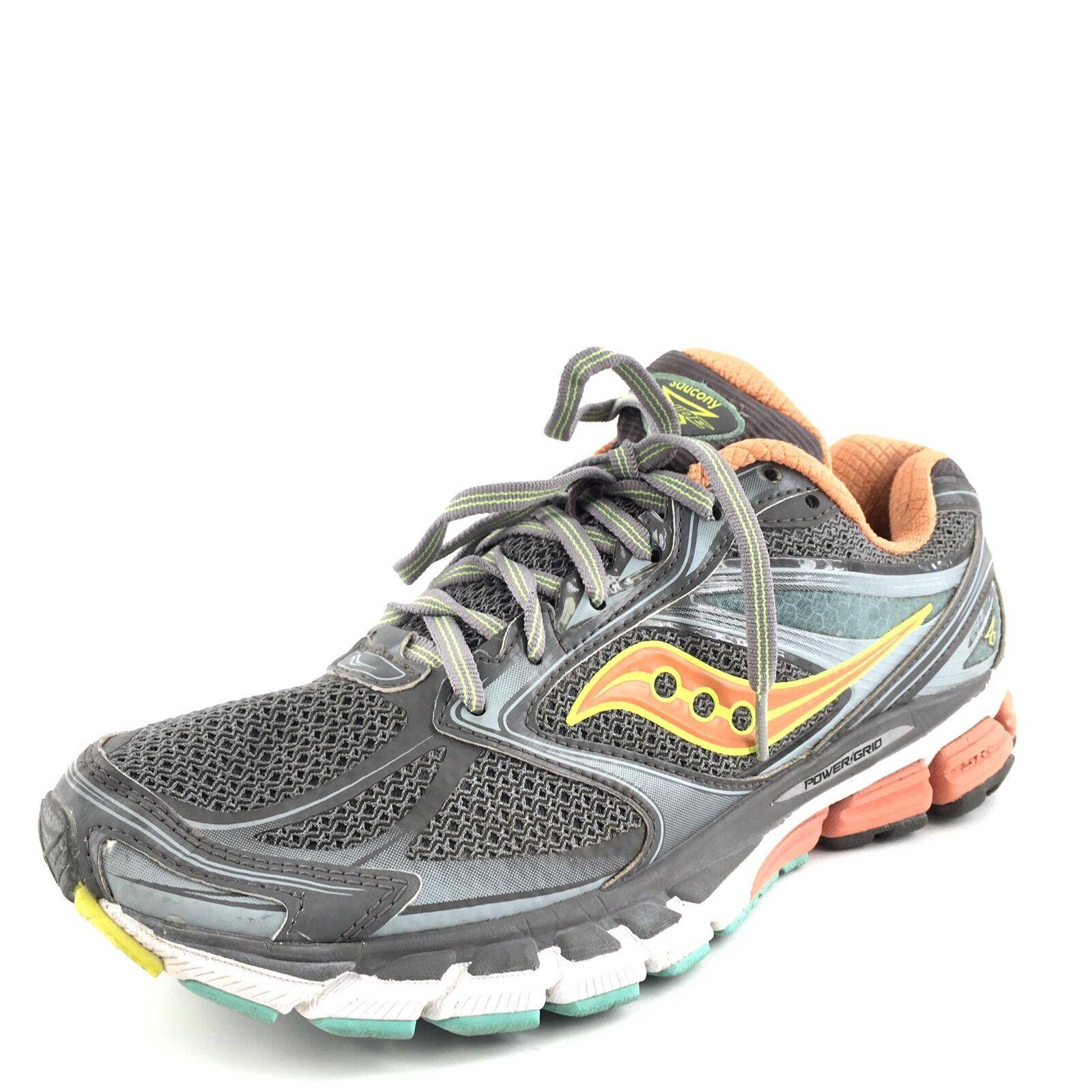 Saucony Guide 8 gris Atardecer Citron para mujer mujer mujer zapatos deportivos atléticos tamaño 10 M   solo para ti