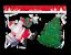 Natale-Natale-Finestra-Vetro-GEL-ADESIVI-DECORAZIONI-PLACCA-Stencil-Babbo-Natale-Design miniatura 8