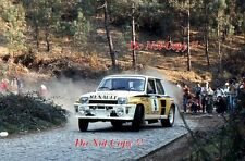 Jean Ragnotti Renault 5 Turbo Portugal Rally 1984 Photograph 1