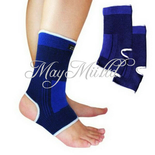 Good 1 Pair Protector Elastic Ankle Brace Guard Foot Support Sports Gear E