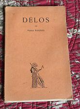 """1925 Délos Roussel Le monde héllénique """"les belles lettres"""" Antiquité Grèce"""