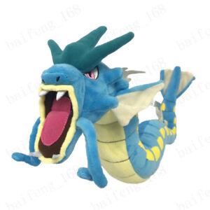 Pokemon-Go-Fiery-Gyarados-And-Lycanroc-Plush-Soft-Teddy-Stuffed-Dolls-Kids-Toy
