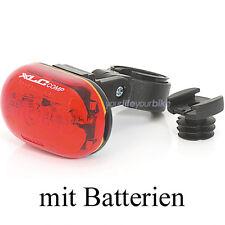 XLC OBERON 5X LED RÜCKLICHT Batterien STVO RÜCKLEUCHTE FAHRRAD LICHT HINTERLICHT