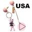 US-Seller-Betsey-Johnson-Crystal-Eye-Earrings-star-pineapple-bunny-bird thumbnail 3