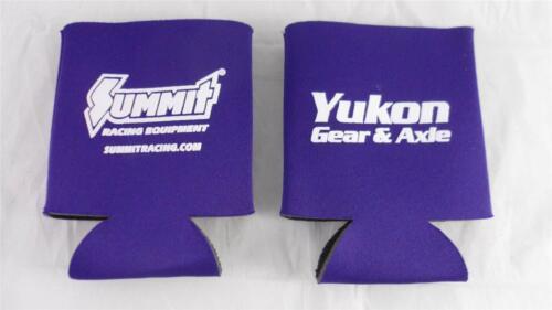 NEW Lot of 2 Purple Koozie Can Drink Coolers Yukon Gear /& Axle Summit Racing