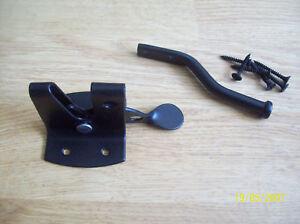 Bonne qualité noir métal auto automatic barrière latch-afficher le titre d`origine IgNvao7F-07190921-224003487