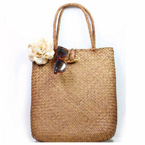 Women-Casual-Straw-Bag-Summer-Beach-Woven-Bag-Shoulder-Bag-Tote-Shoulder-HandBag