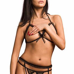 lingerie sexy soutien gorge ouvert