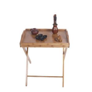 Image Is Loading Folding Tv Tray Table Dinner Wood Stand Serving
