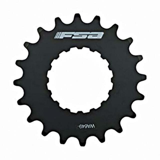 Stainless Steel Full Speed Ahead FSA Bosch E-Bike Sprocket Black
