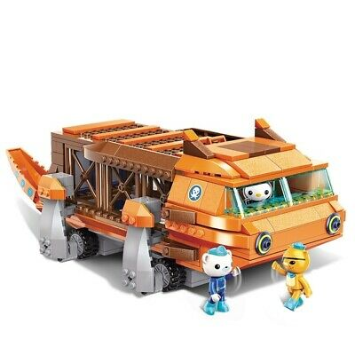 Octonauts lego GUP-G  Barnacles kwazii peso 378pcs US Seller