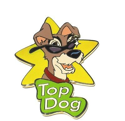 Rare Le 100 Disney Auctions Pin Lady And The Tramp Top Dog Dad Star Sunglasses Ebay