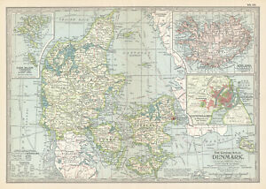 1902 Denmark, Iceland and the Faroes by The Century Co,