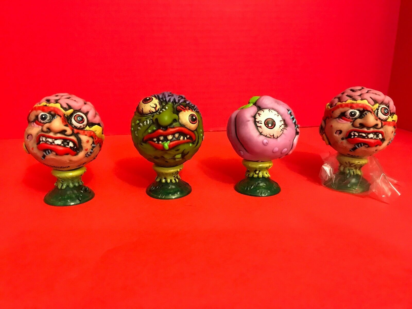 Kidrobot Madballs Vinyl Mini Series Lot Of 4