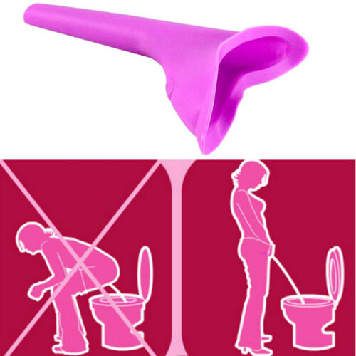 Portable Female Woman Ladies She Urinal Urine Wee Funnel Camping Travel UK